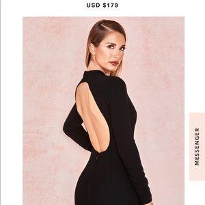 Anine backless dress